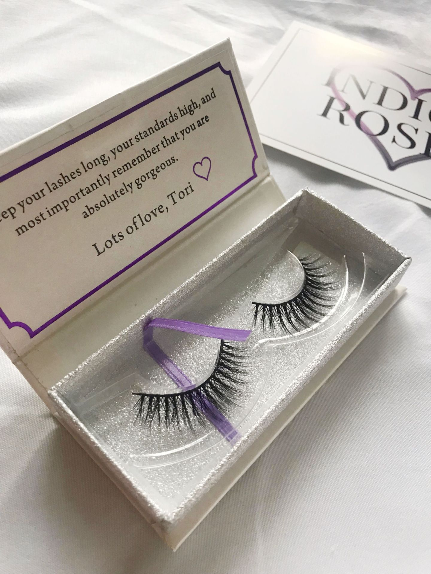 Indigo Rosee Beauty eyelash set