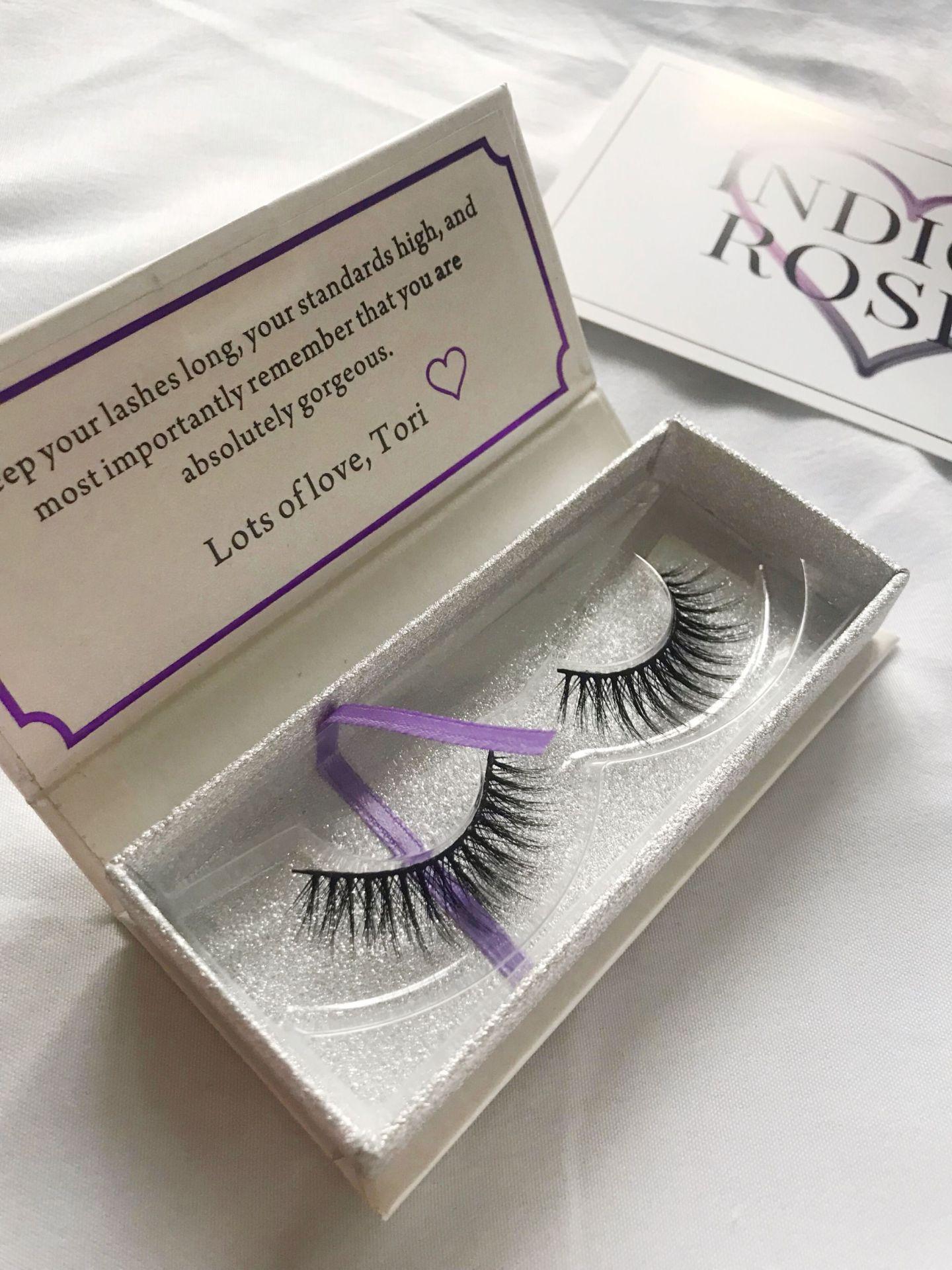 Indigo Rosee Beauty eyelash set
