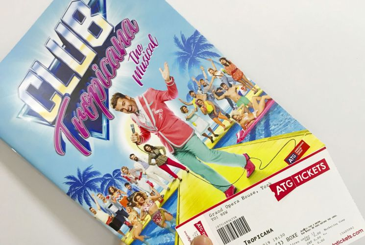A Trip Back to the 80s with Club Tropicana The Musical*