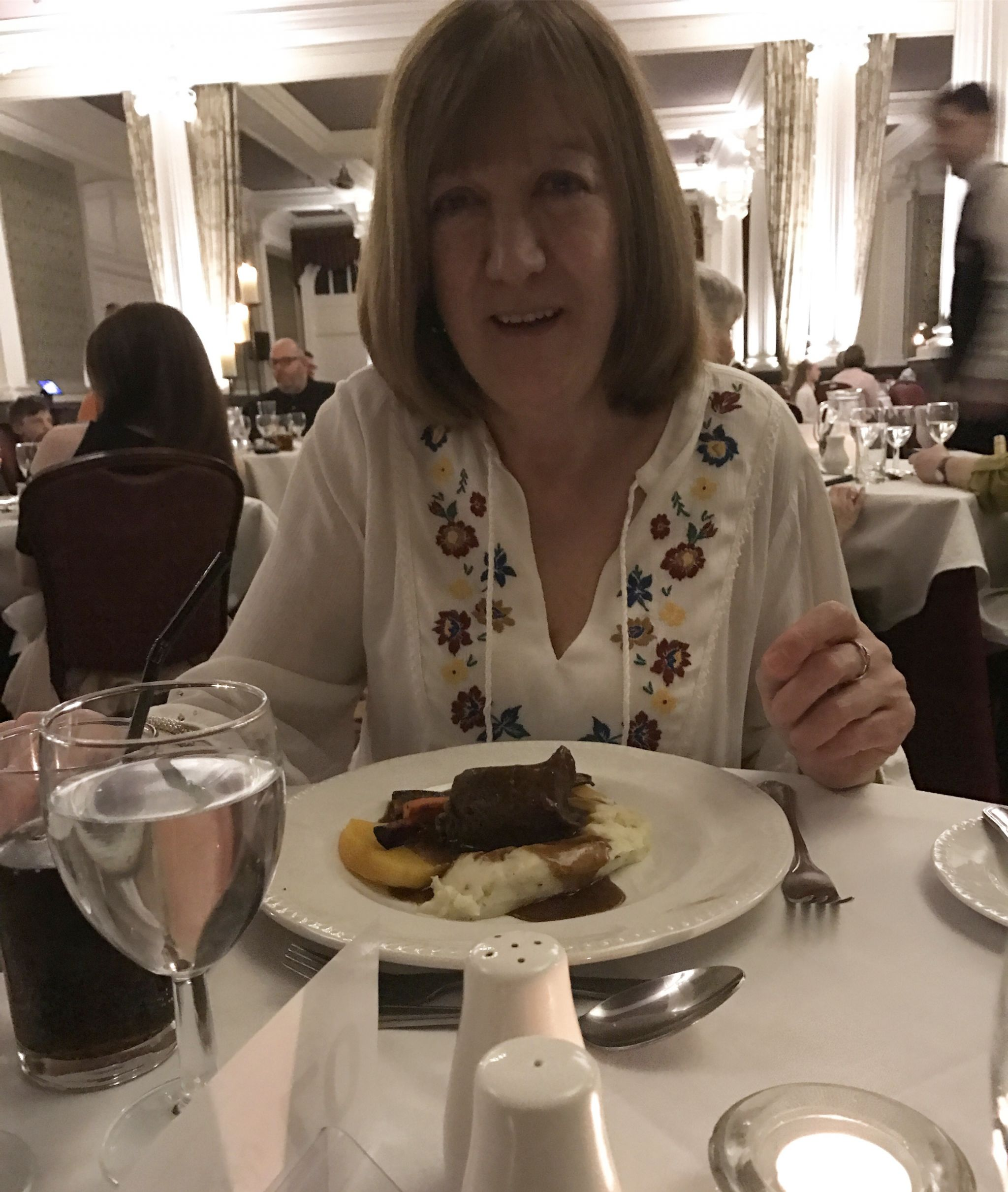 Mum at the Majestic Hotel, Harrogate