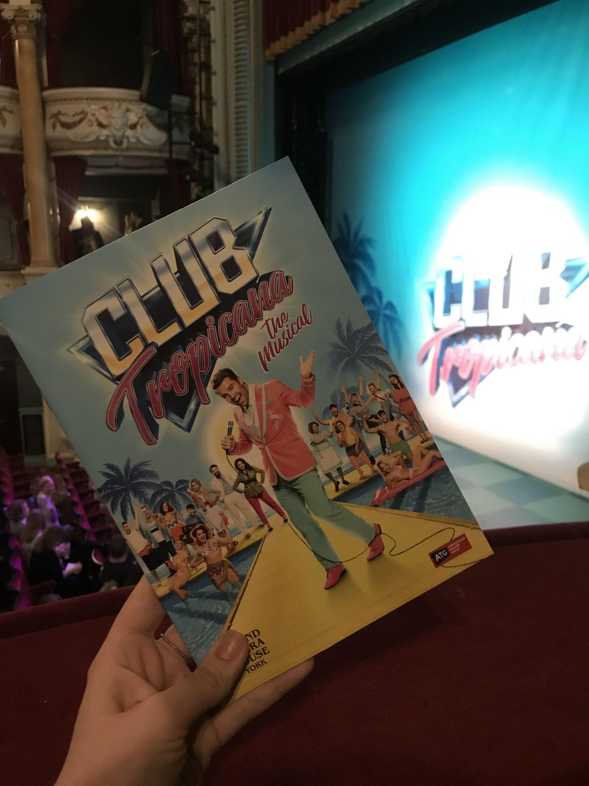 Club Tropicana musical programme and set