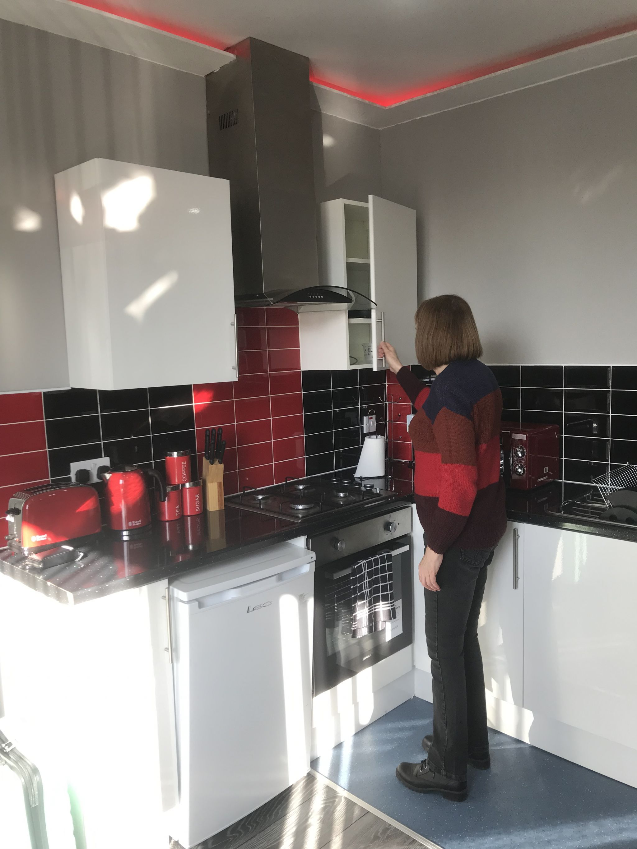Mum is the apartment kitchen