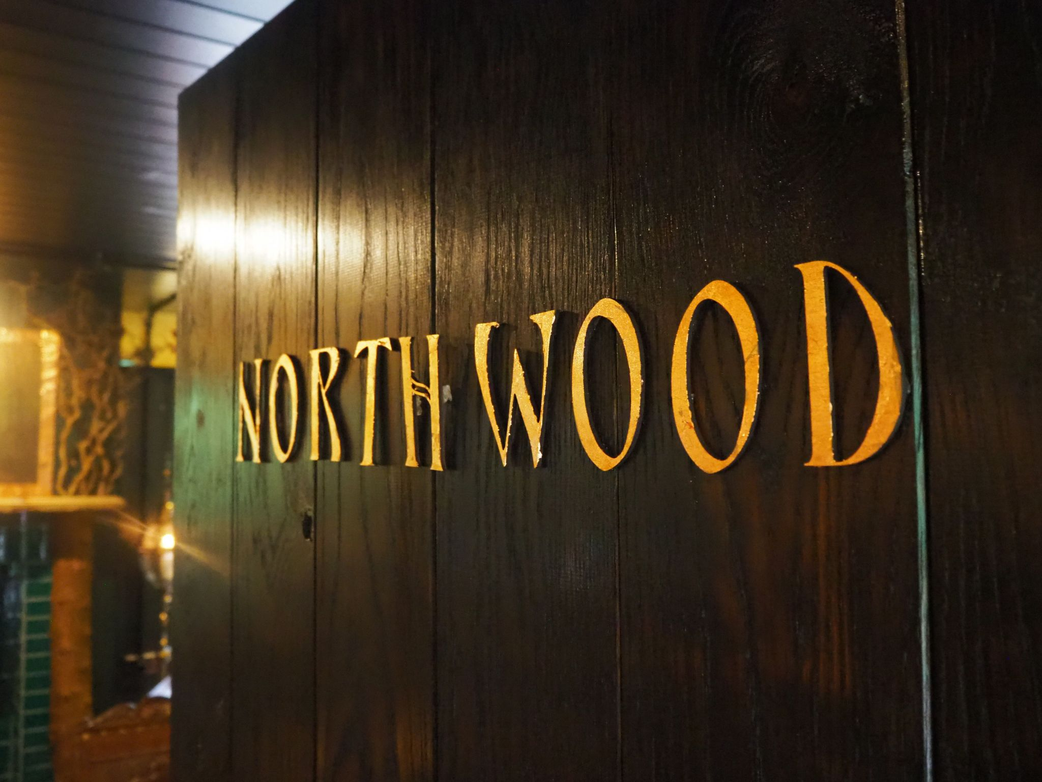 Northwood Door Sign