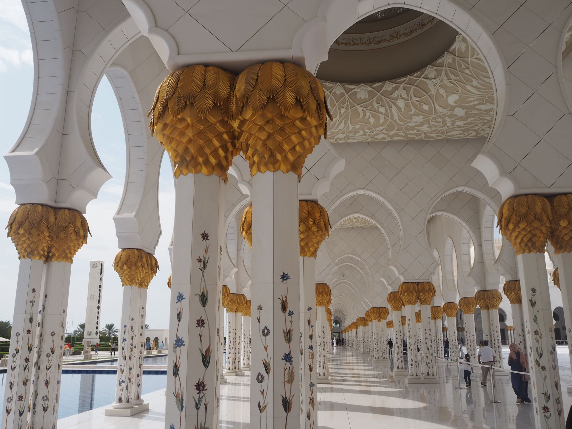Sheikh Zayed Mosque architecture