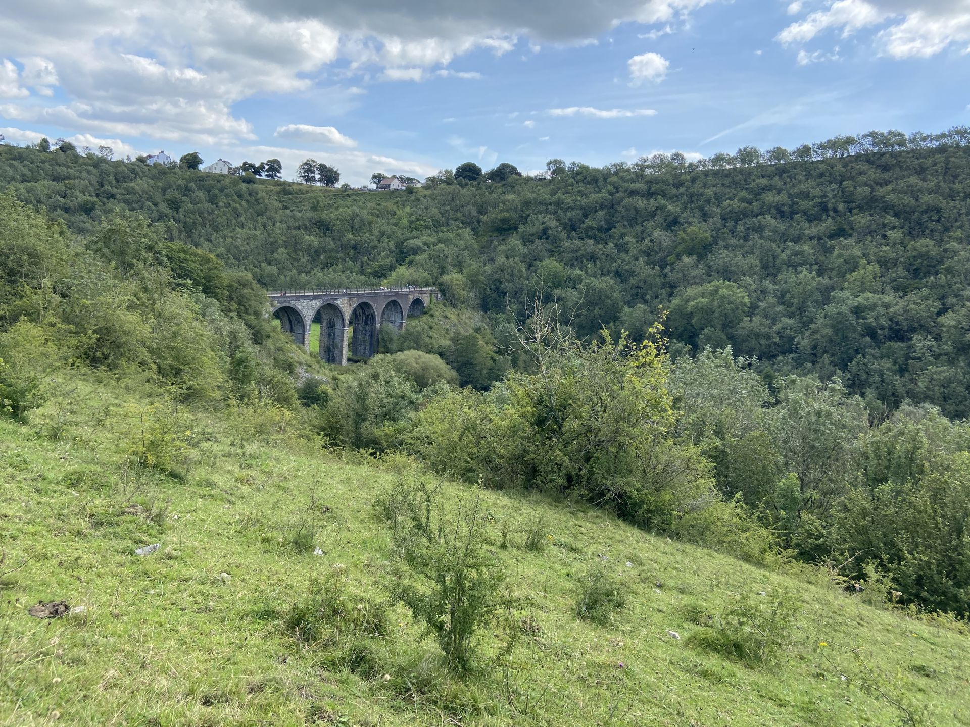 monsal viaduct in the Peak District