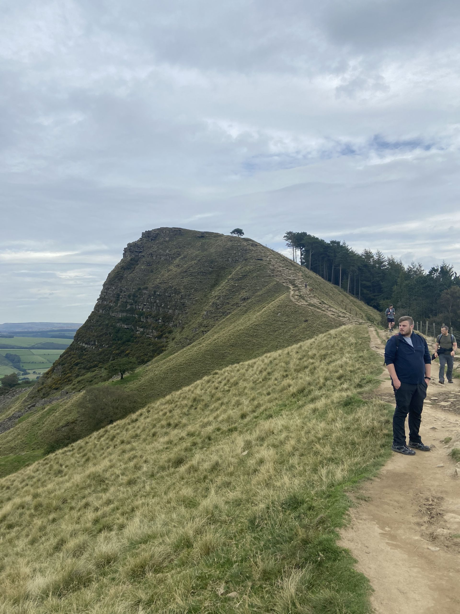 Mam Tor ridge walk in the Peak District