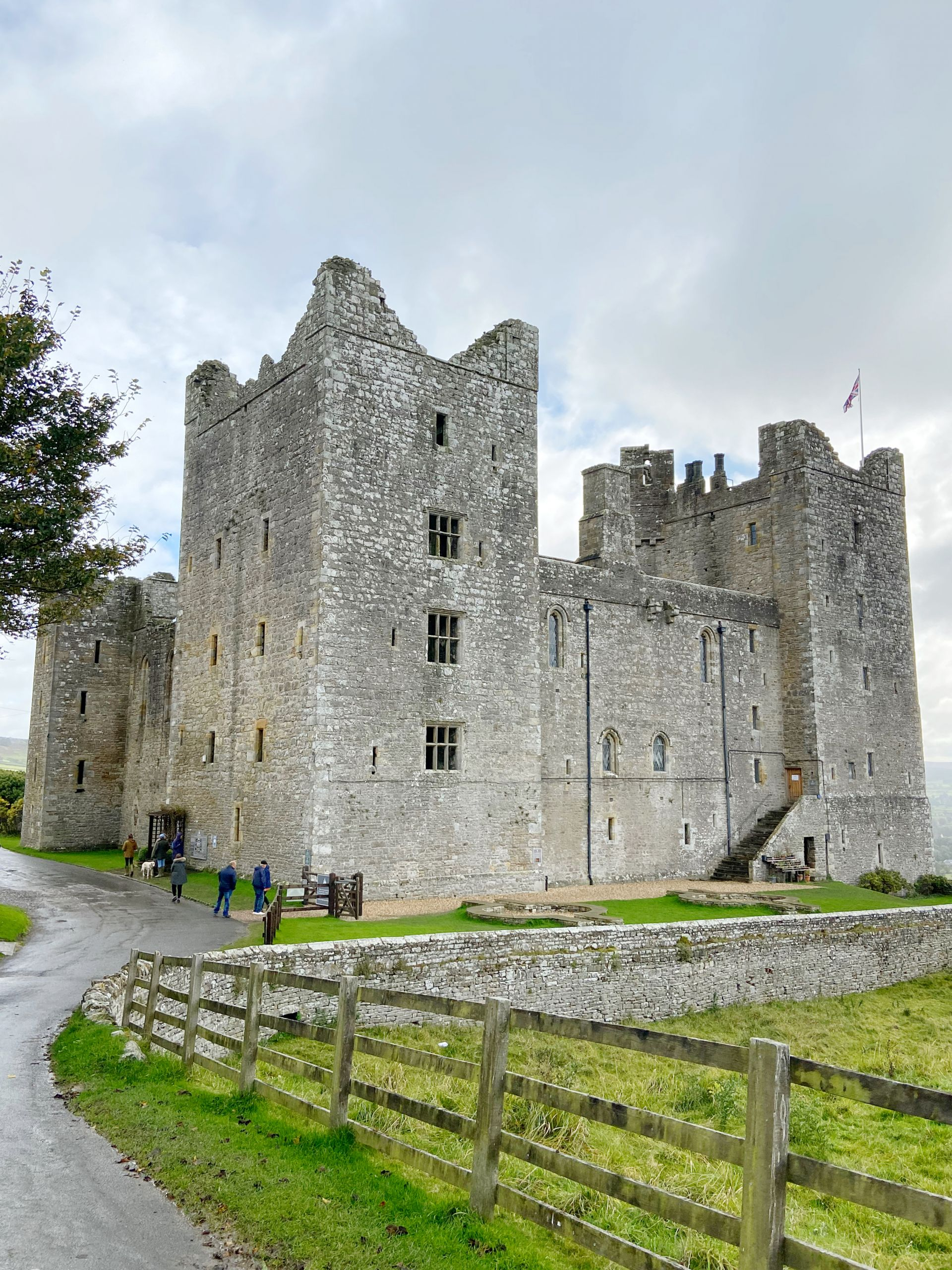 Bolton Castle in the Yorkshire Dales