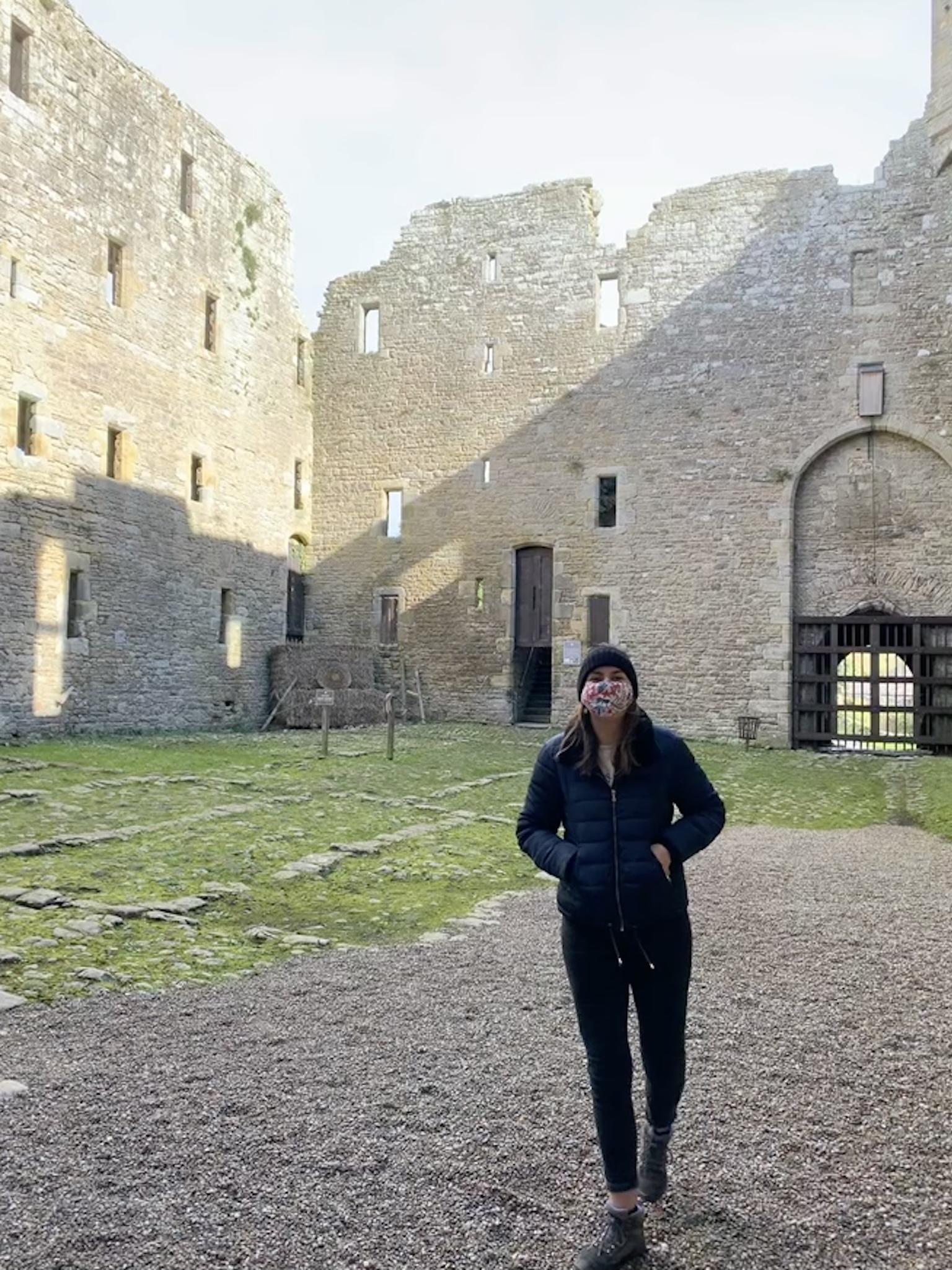 Inside Bolton Castle