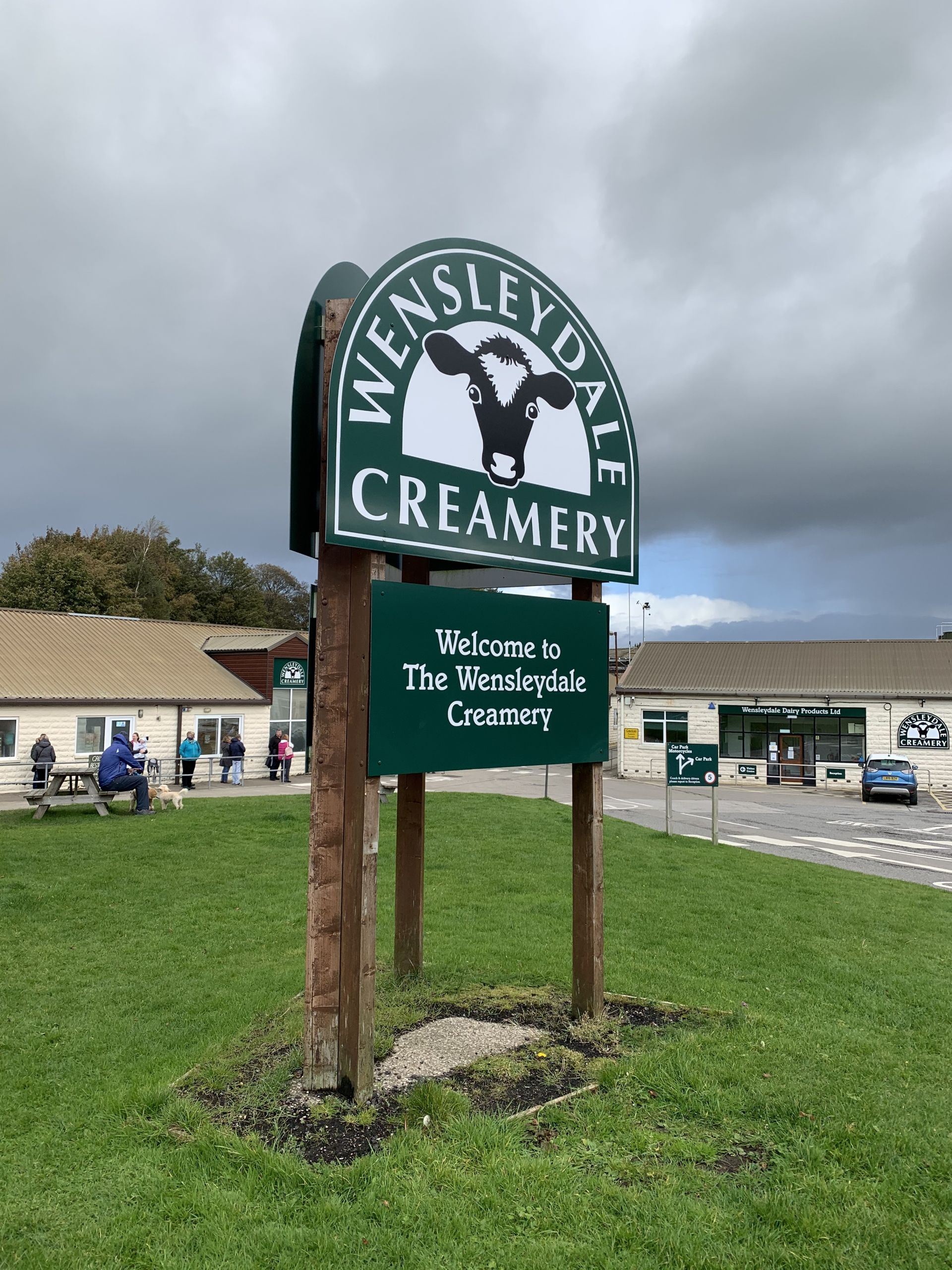 Wensleydale Creamery in the Yorkshire Dales