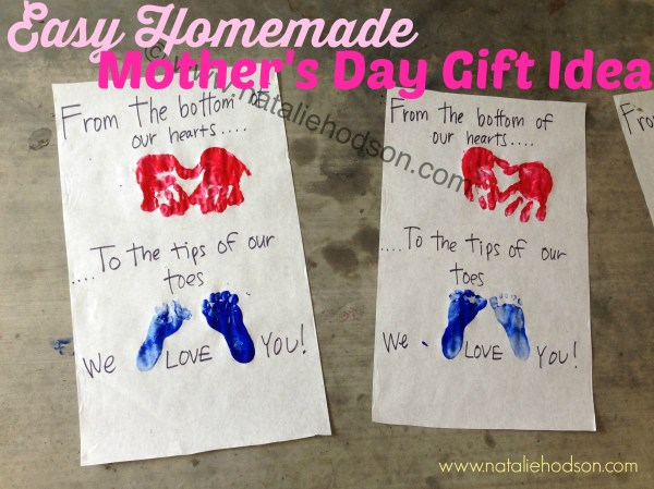 Easy, Homemade Mother's Day Gift Idea | Natalie Hodson