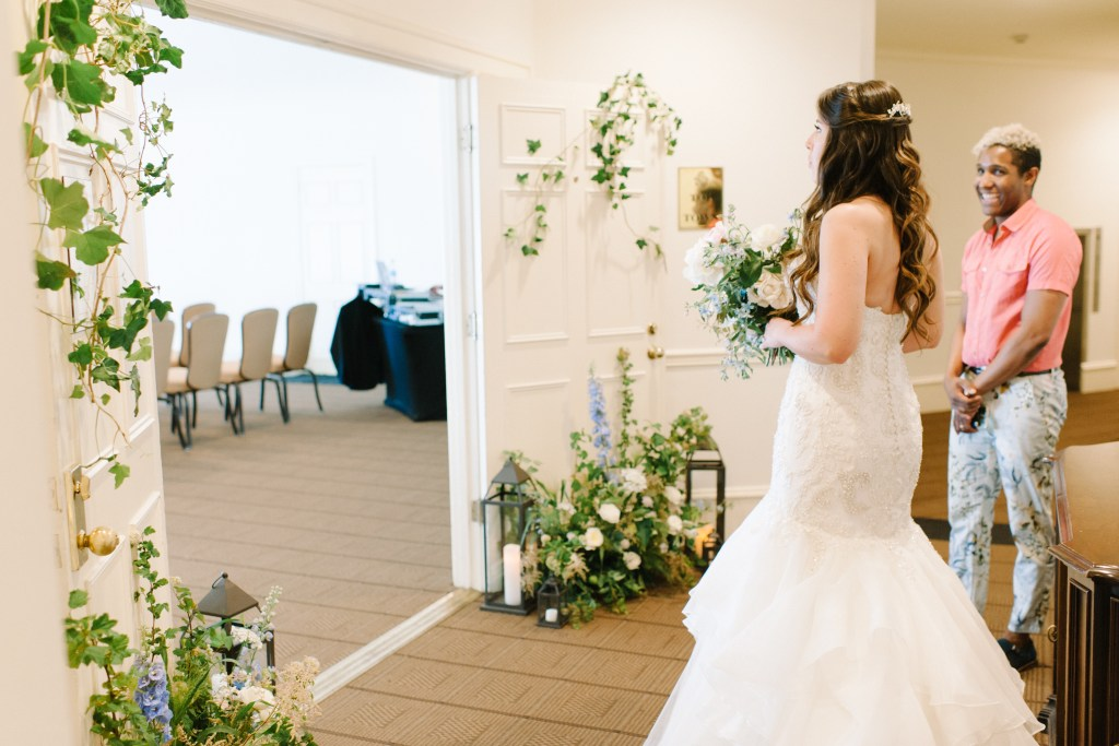 Wild Bloom Florals Top of the Town Sorrento Hotel Seattle wedding venue -- by Blue Rose Photography