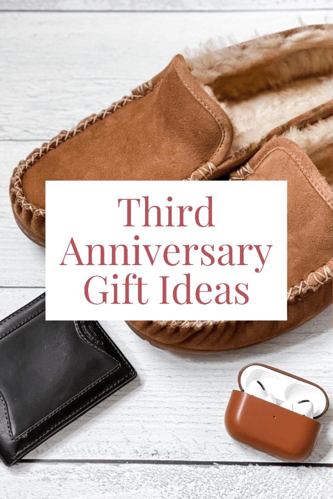 Third Wedding Anniversary Gift Ideas - Leather Anniversary