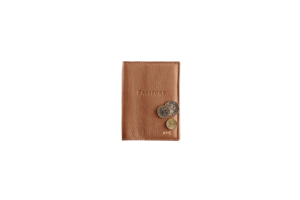 Third Wedding Anniversary Gift Ideas - Leather Passport Cover