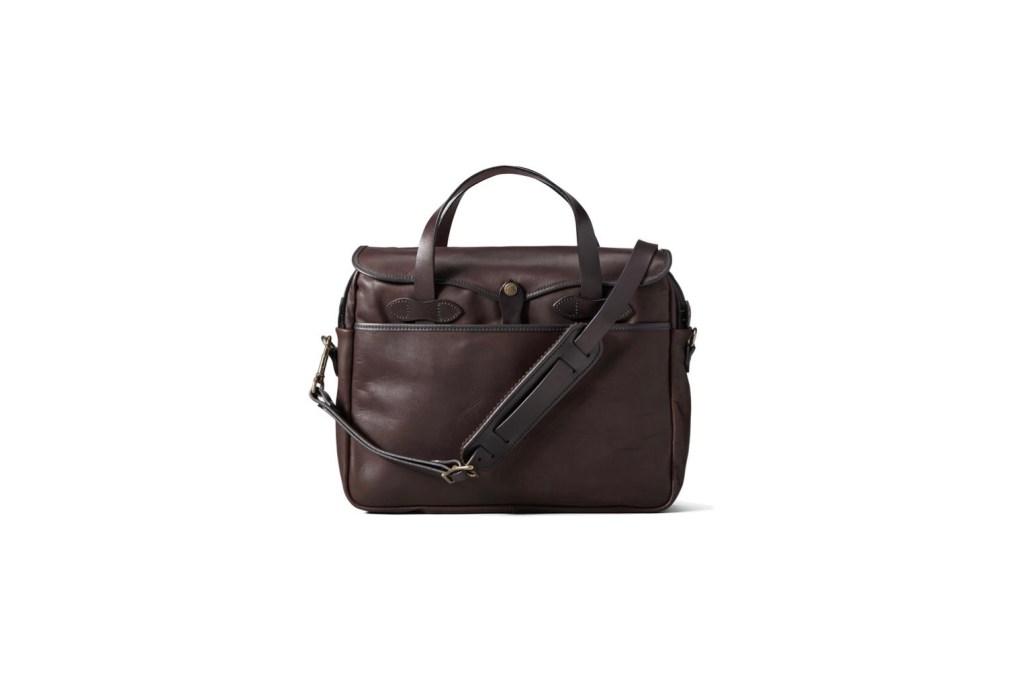Third Wedding Anniversary Gift Ideas - Leather Briefcase / Laptop Bag