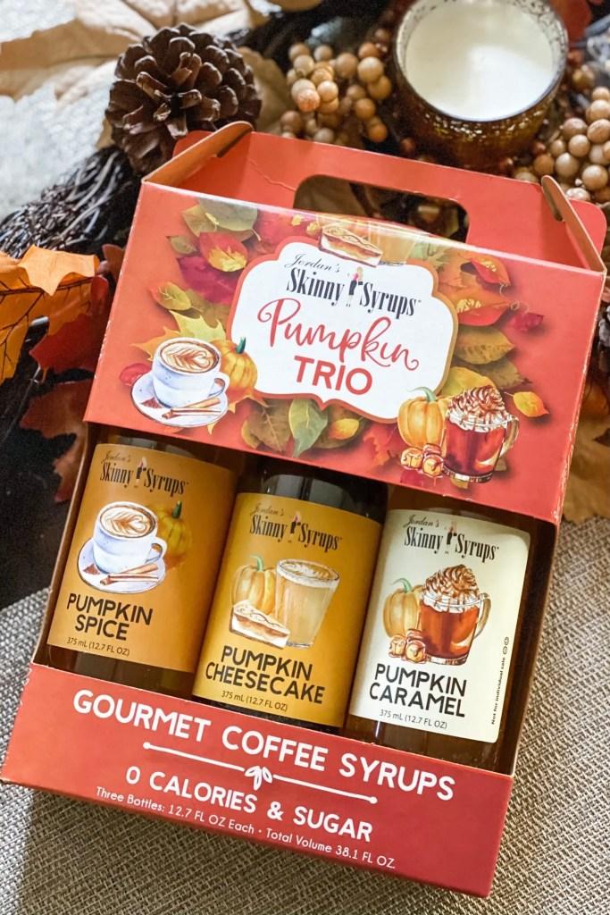 Skinny Mixes Skinny Syrups Pumpkin Trio