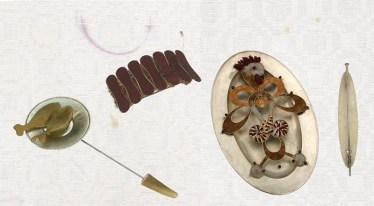 Tischbroschen, A Manger des Yeux, 2003