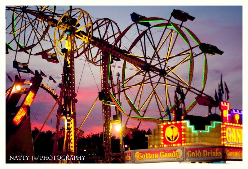 One of the Ann Arbor summer events, the Ann Arbor Jaycee's Summer Carnival.