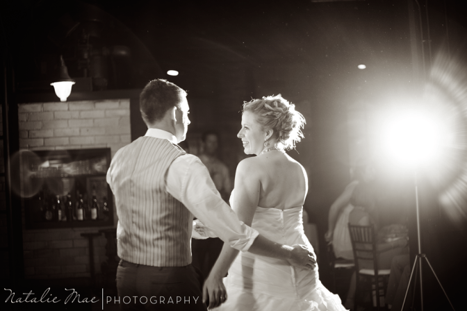 So adorable, I loved their choreographed first dance.