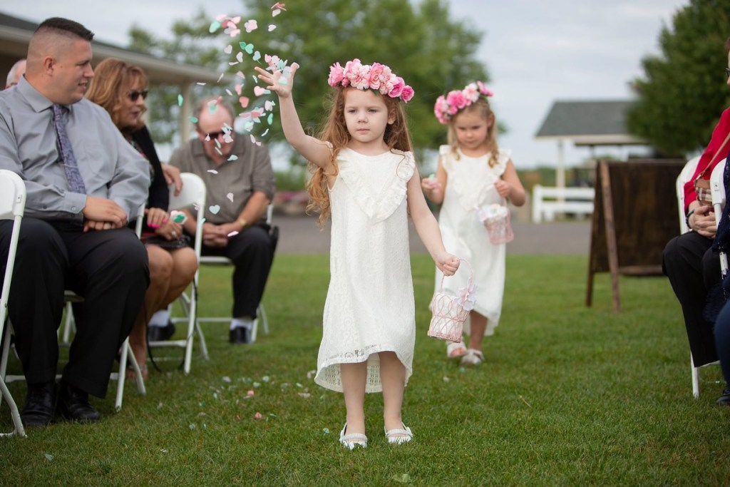 Michigan flower girls