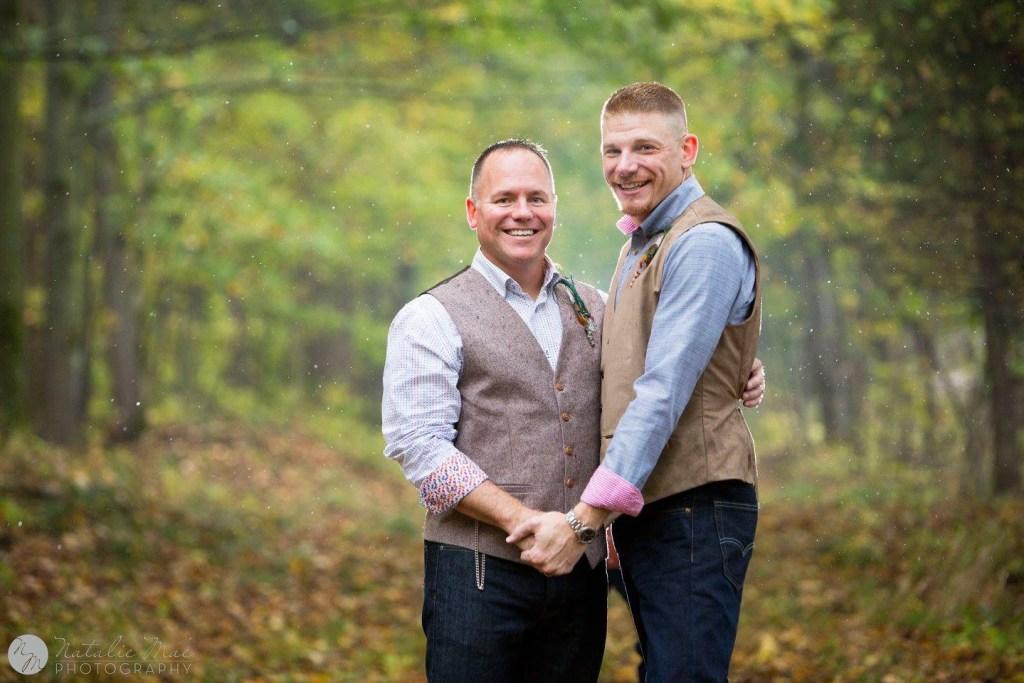 Michigan wedding photographer, October wedding