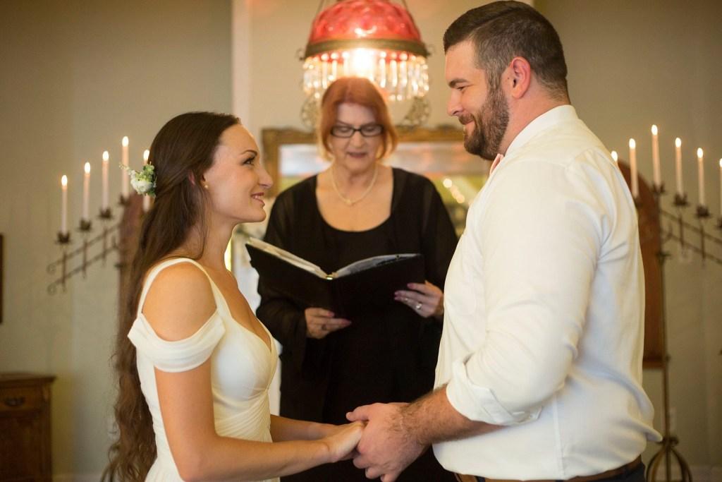 Intimate wedding michigan