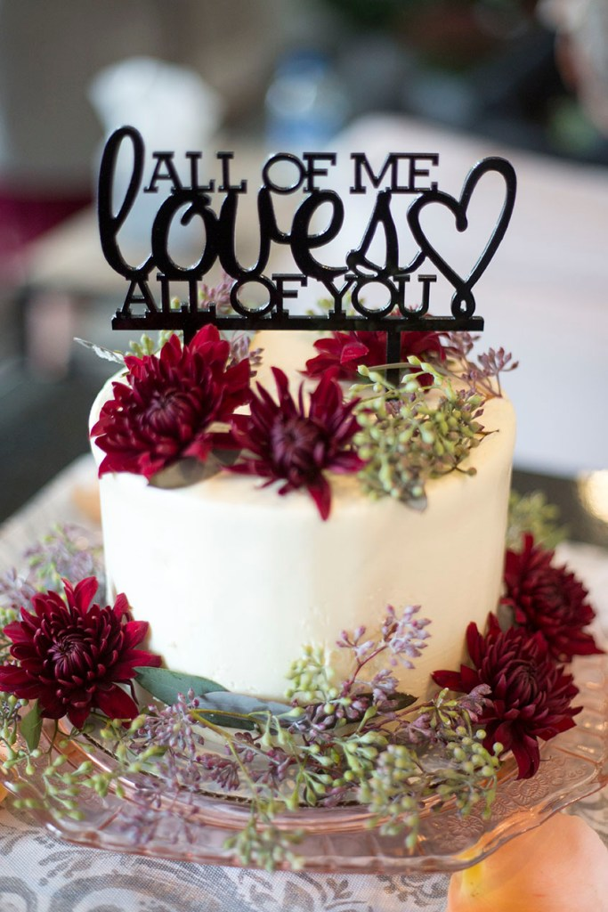 Zingerman's Bakery wedding cake