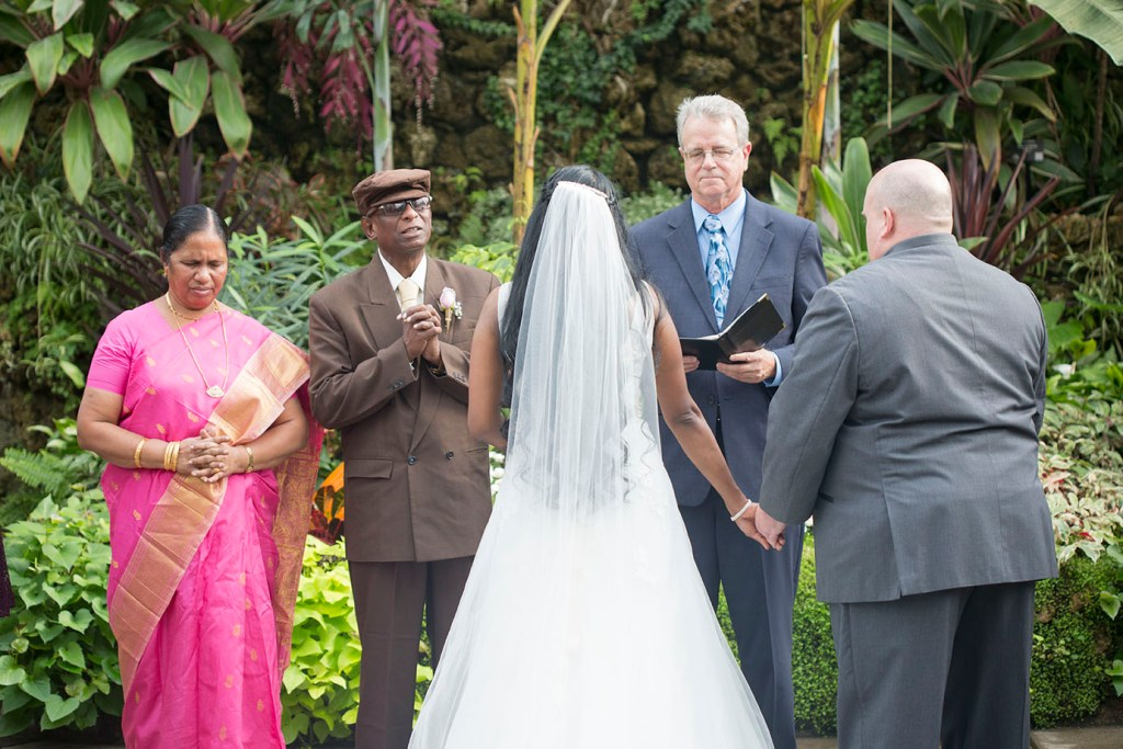 Father's speech during wedding ceremony on Belle Isle
