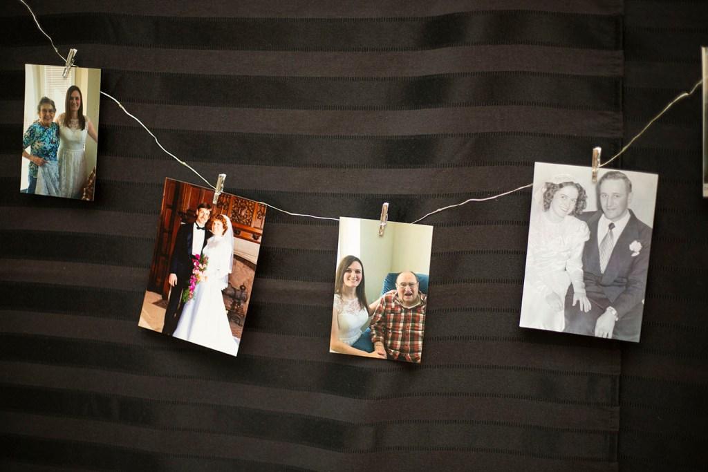 Past weddings in Rachel's family