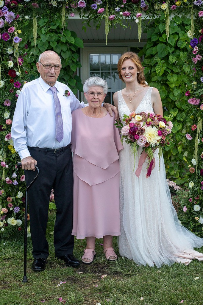 Carmen and her grandparents