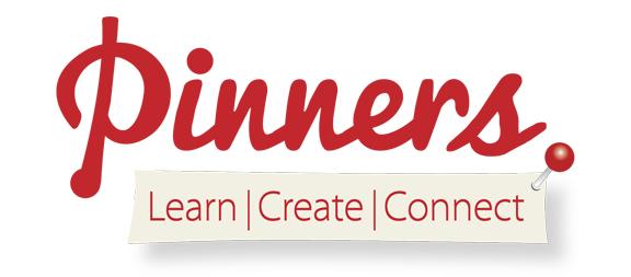 Logo - Pinners learncreateconnect
