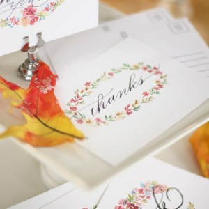 Free thanksgiving postcards