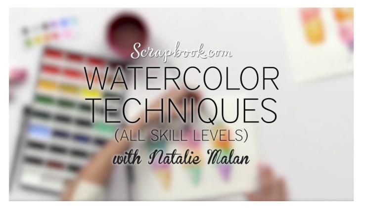 nataliemalan-scrapbook-free-watercolor-class-gansai-tambi-prima-watercolor-decadent-pies