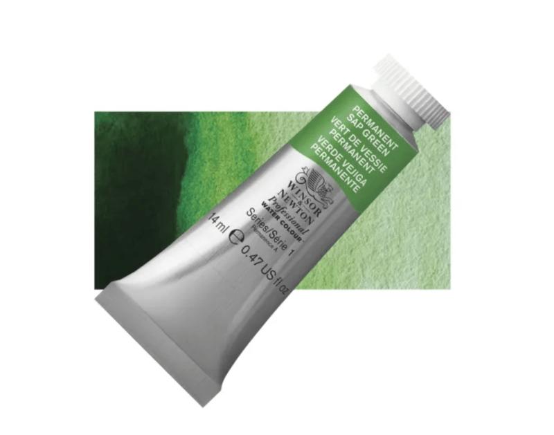 sap green watercolor paint