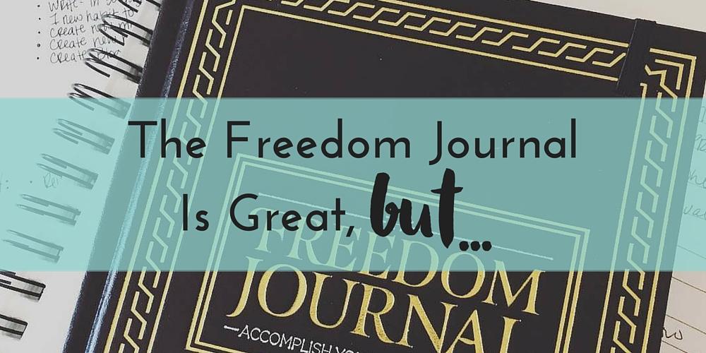 Freedom journal discount code
