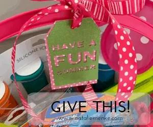 Make this Summer Hostess Gift Basket & Get Invited Back