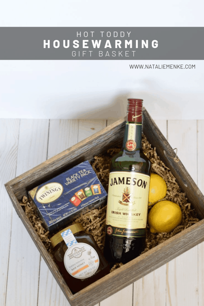 Give a housewarming gift during the fall or winter that leaves the recipient feeling warm and toasty! All the details for my Hot Toddy Housewarming gift basket are available at www.nataliemenke.com
