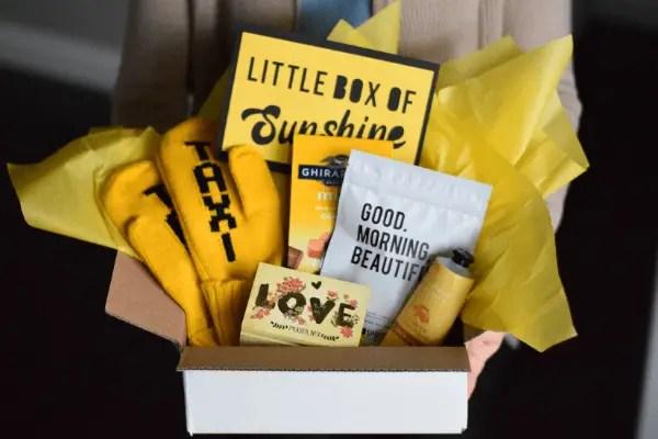 Assemble a Cheerful & Personalized Little Box of Sunshine