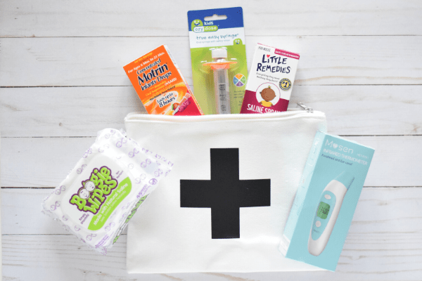 Baby's First Cold Care Package & Free Gift Tag Printable