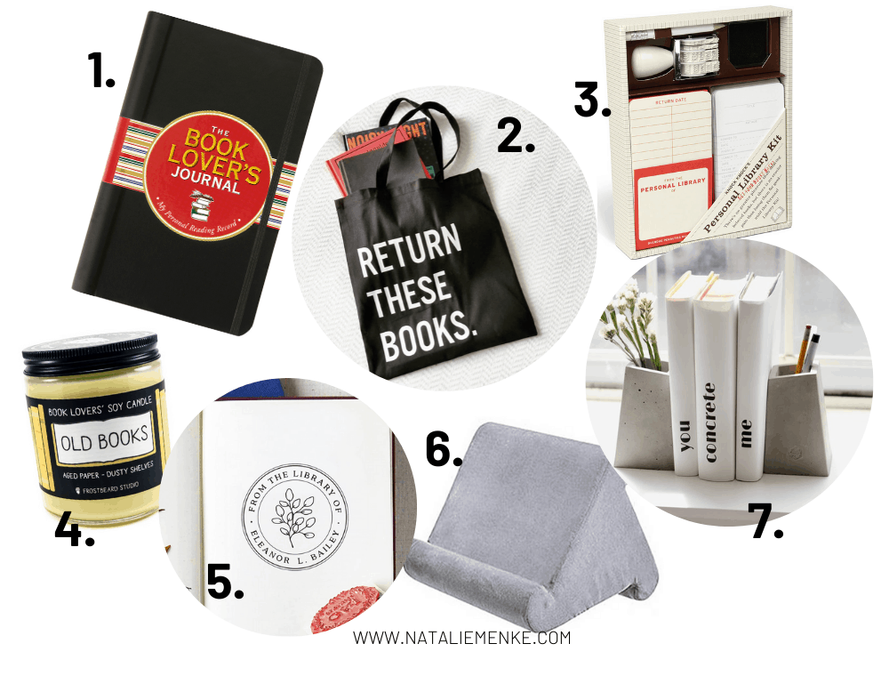 book-themed gift