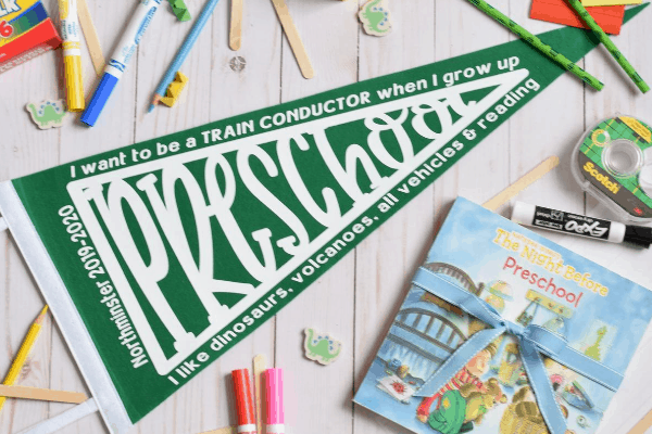 DIY First Day of School Gift for Kids & Cricut Tutorial