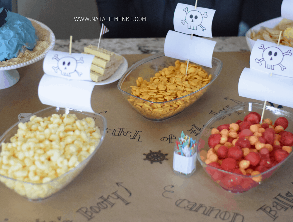 pirate birthday party food ideas