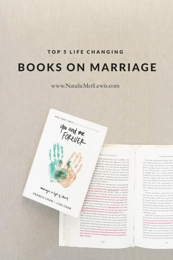 Top 5 Life Changing Books on Marriage