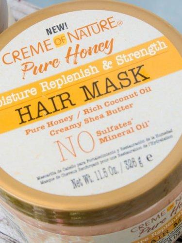 Creme of nature honey hair mask review