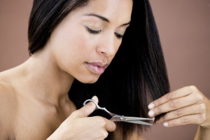 how to remove split ends yourself