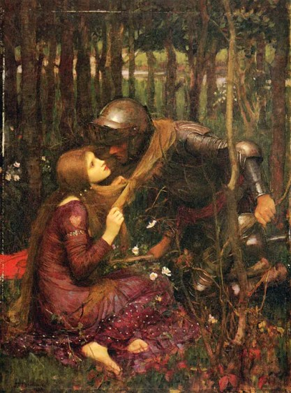 John William Waterhouse's La Belle Dame sans Merci