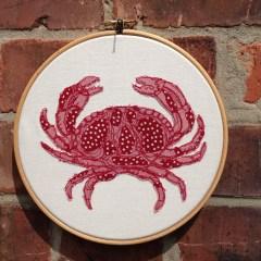 Red Dotty Crab