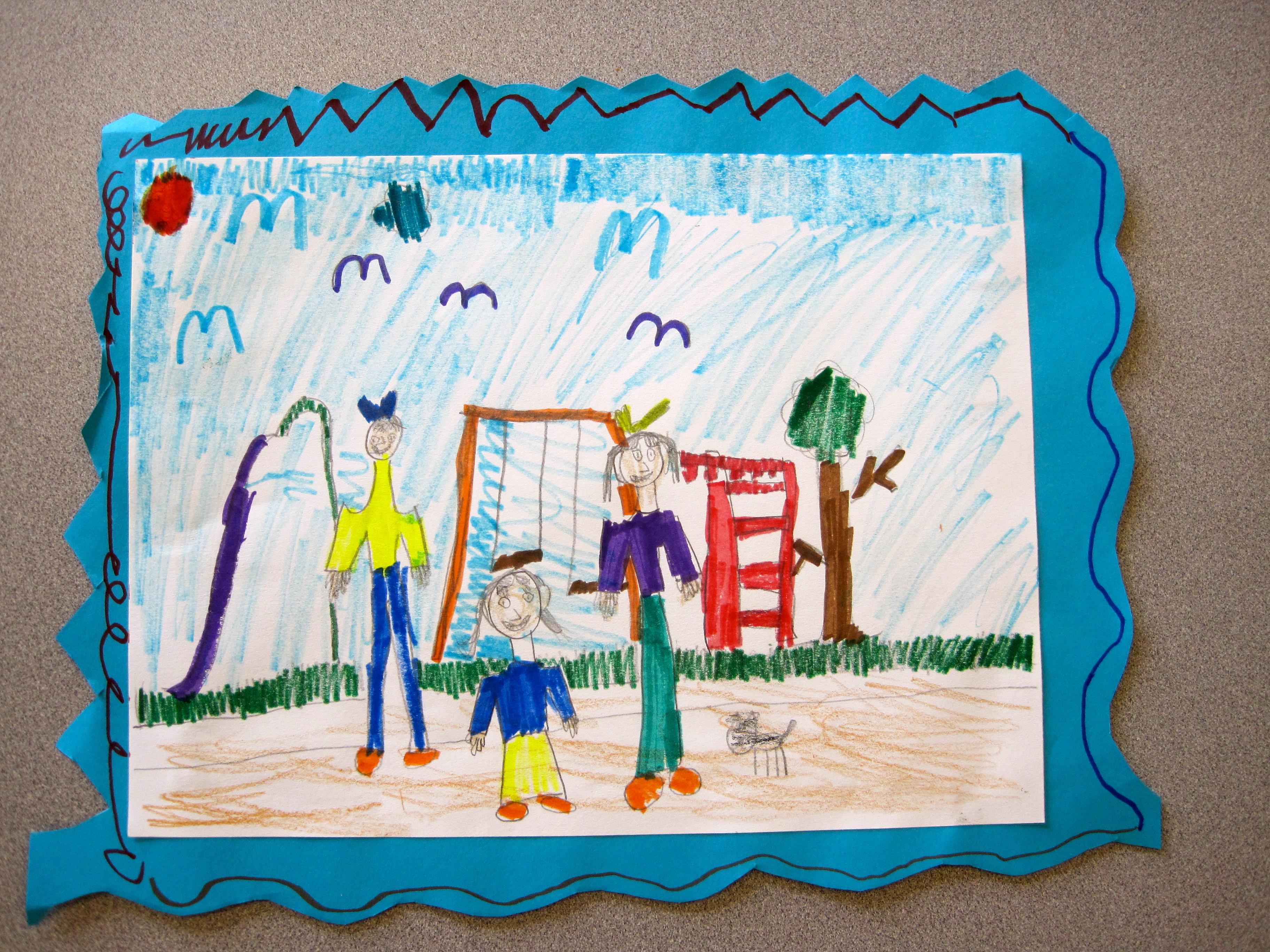 Kindergarten Family Portraits