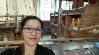 Pose wajib: selfie! :D