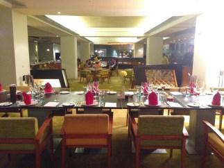 The table awaits