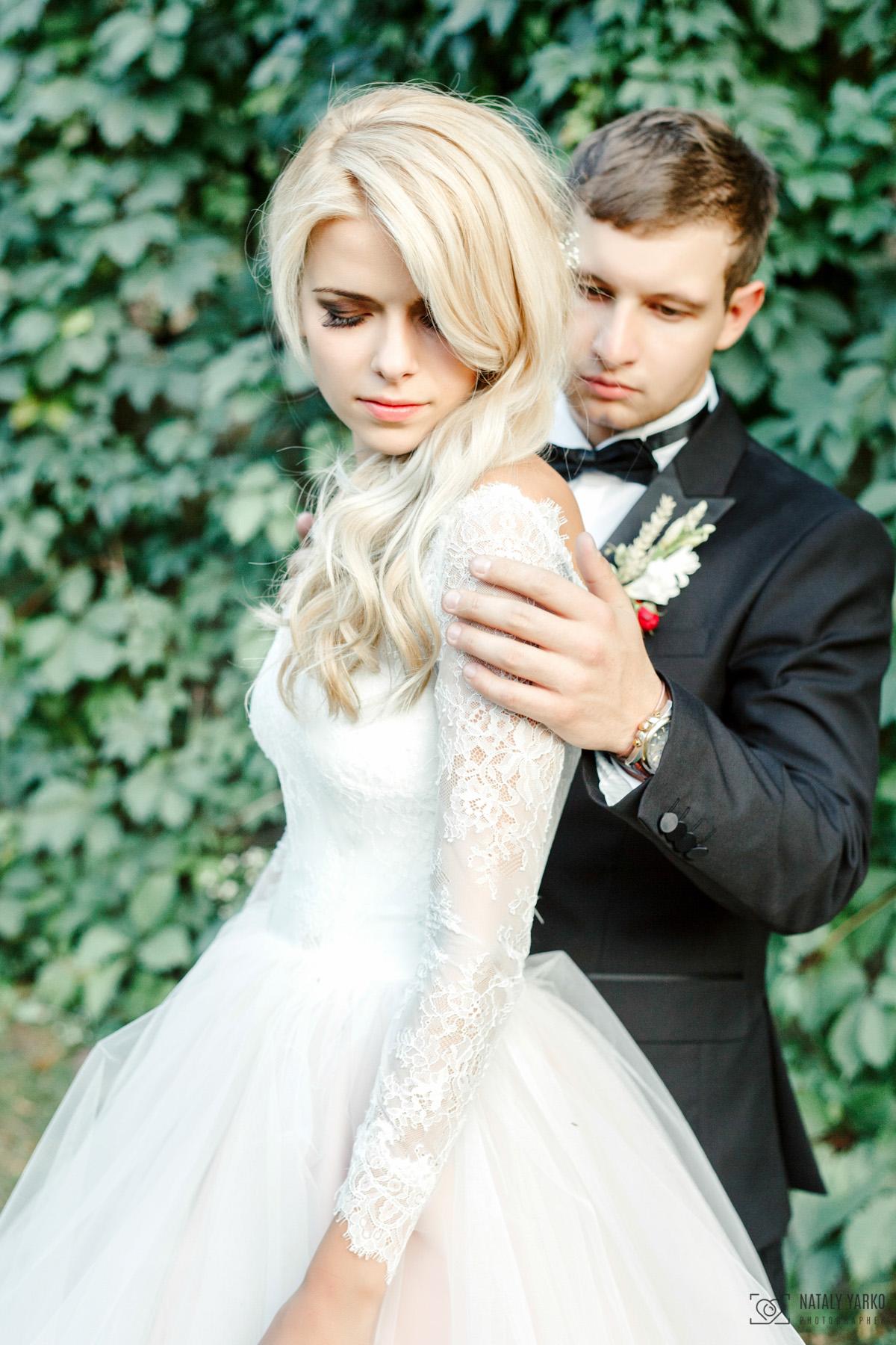 Свадебное портфолио, невеста и жених